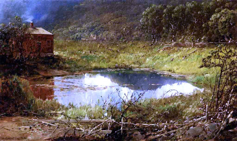 William Louis Sonntag The Pond - Hand Painted Oil Painting