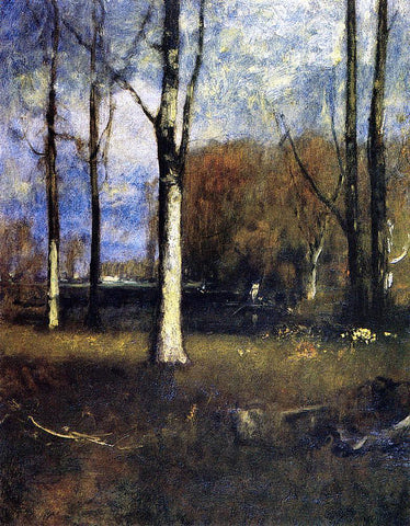 George Inness The Pond - Hand Painted Oil Painting