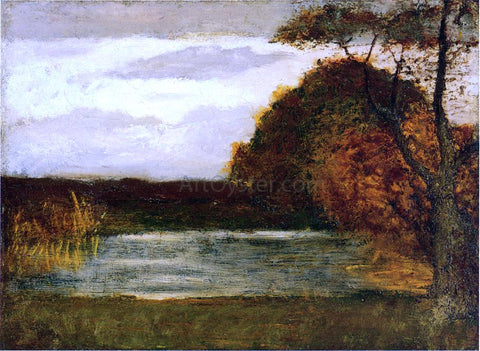 Albert Pinkham Ryder The Pond - Hand Painted Oil Painting