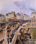 Camille Pissarro The Pont-Neuf: Rainy Afternoon - Hand Painted Oil Painting
