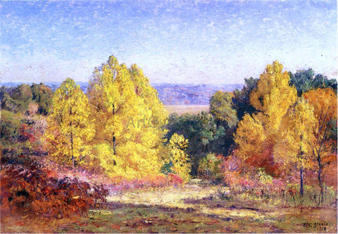 Theodore Clement Steele The Poplars - Hand Painted Oil Painting