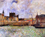 Paul Gauguin The Port, Dieppe - Hand Painted Oil Painting