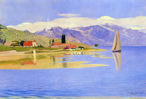 Felix Vallotton The Port of Pully - Hand Painted Oil Painting
