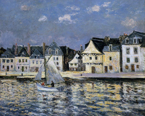 Maxime Maufra The Port of Saint Goustan, Brittany - Hand Painted Oil Painting