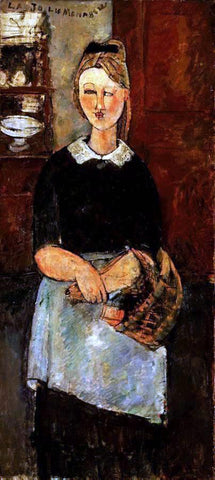 Amedeo Modigliani The Pretty Housewife - Hand Painted Oil Painting