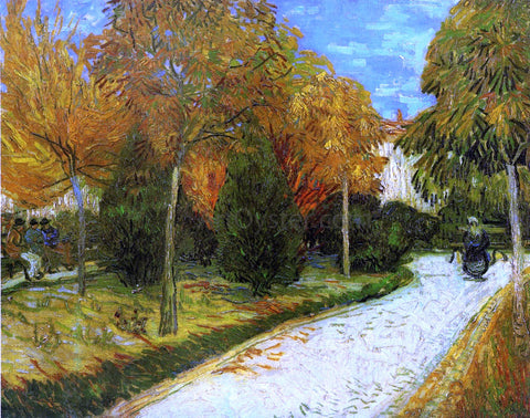 Vincent Van Gogh The Public Park at Arles - Hand Painted Oil Painting