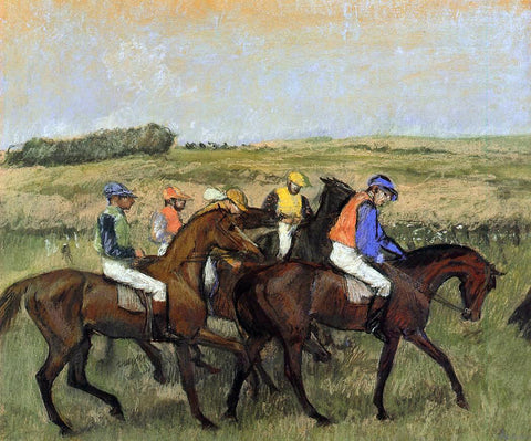 Edgar Degas The Racecourse - Hand Painted Oil Painting