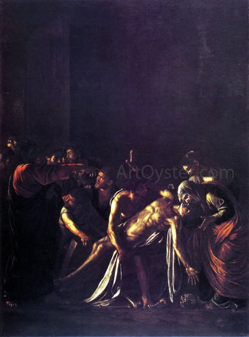 Caravaggio The Raising of Lazarus - Hand Painted Oil Painting