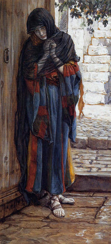 James Tissot The Repentant Magdelene - Hand Painted Oil Painting