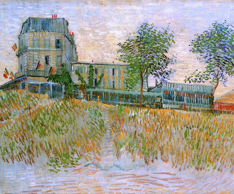 Vincent Van Gogh The Restaurant de la Sirene at Asnieres - Hand Painted Oil Painting