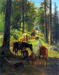 William Hahn The Return from Glacier Point - Hand Painted Oil Painting