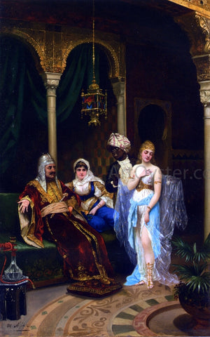 Moritz Stifter The Rhamazan Bride - Hand Painted Oil Painting