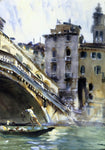 John Singer Sargent The Rialto: Venice - Hand Painted Oil Painting