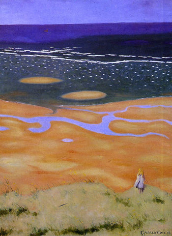 Felix Vallotton The Rising Tide - Hand Painted Oil Painting