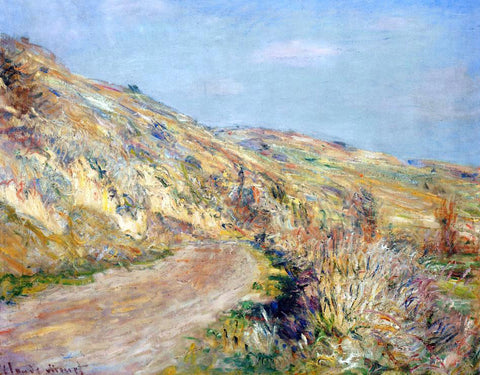 Claude Oscar Monet The Road to Giverny - Hand Painted Oil Painting