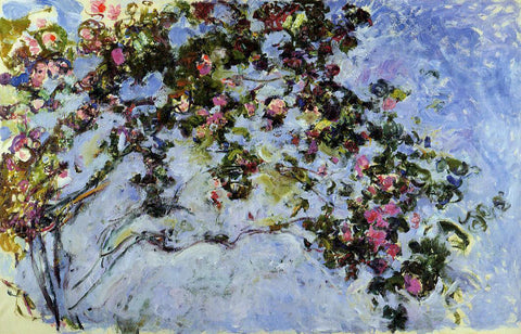 Claude Oscar Monet The Rose Bush - Hand Painted Oil Painting