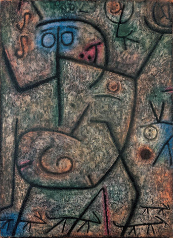 Paul Klee The Rumors - Hand Painted Oil Painting