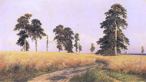 Ivan Ivanovich Shishkin The Rye Field, 1878 - Hand Painted Oil Painting