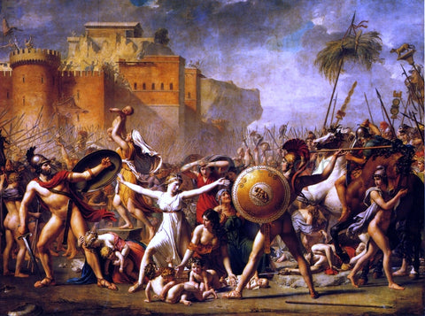 Jacques-Louis David The Sabine Women - Hand Painted Oil Painting