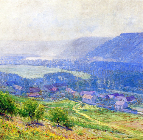 Guy Orlando Rose The Saine Valley, Giverny - Hand Painted Oil Painting