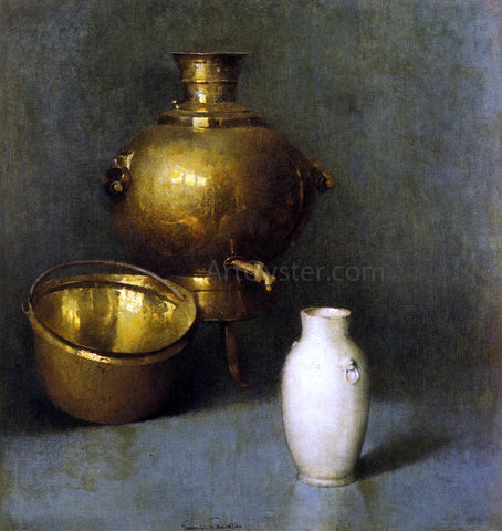Emil Carlsen The Samovar - Hand Painted Oil Painting