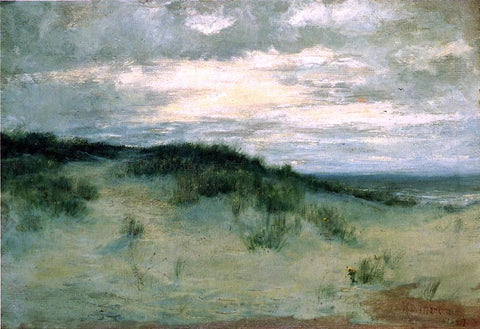 Homer Dodge Martin The Sand Dunes - Hand Painted Oil Painting