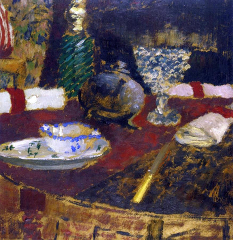 Edouard Vuillard The Sauceboat - Hand Painted Oil Painting
