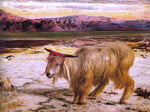 William Holman Hunt A Scapegoat - Hand Painted Oil Painting