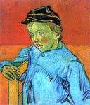 Vincent Van Gogh The Schoolboy (Camille Roulin) - Hand Painted Oil Painting