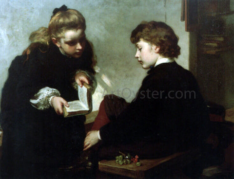 James Sant The Schoolmasters' Daughter - Hand Painted Oil Painting