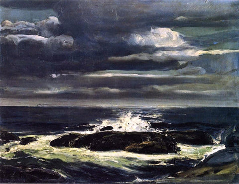 George Wesley Bellows The Sea - Hand Painted Oil Painting
