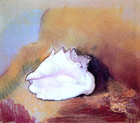 Odilon Redon The Seashell - Hand Painted Oil Painting