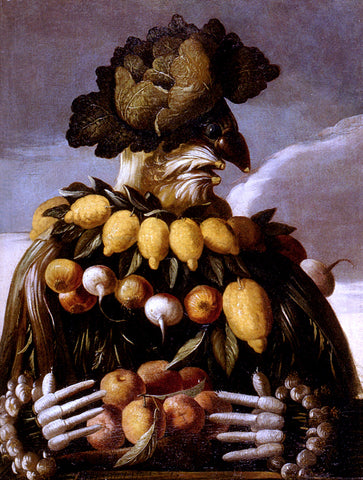 Giuseppe Arcimboldo The Seasons Pic 1 - Hand Painted Oil Painting