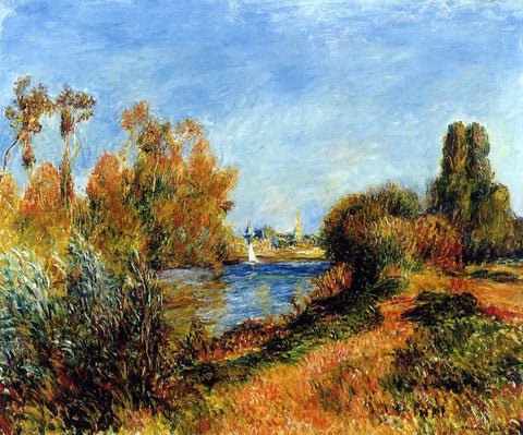 Pierre Auguste Renoir The Seine at Argenteuil - Hand Painted Oil Painting