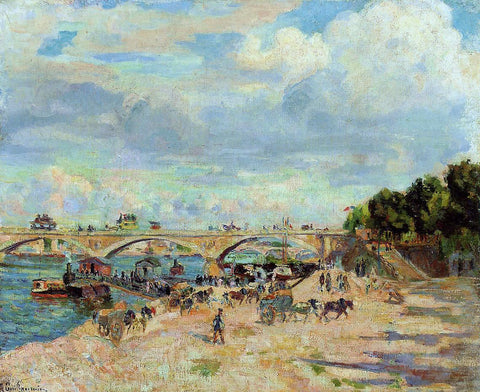 Armand Guillaumin The Seine at Charenton - Hand Painted Oil Painting