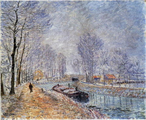 Gustave Loiseau The Seine at Pontoise - Hand Painted Oil Painting