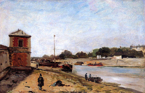 Paul Gauguin The Seine Opposite the Quai de Passy - Hand Painted Oil Painting