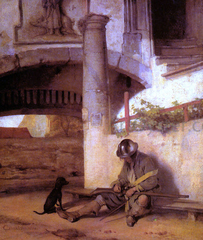 Carel Fabritius The Sentry - Hand Painted Oil Painting