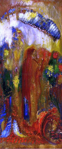 Odilon Redon The Sermon - Hand Painted Oil Painting