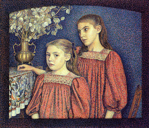 Georges Lemmen The Serrys Sisters - Hand Painted Oil Painting