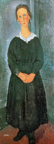 Amedeo Modigliani The Servant Girl - Hand Painted Oil Painting