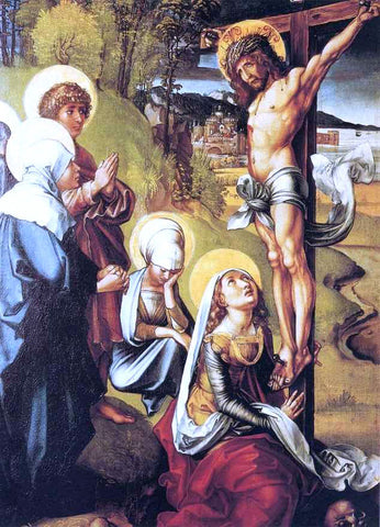 Albrecht Durer The Seven Sorrows of the Virgin: Crucifixion - Hand Painted Oil Painting