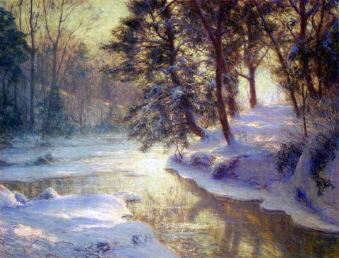 Walter Launt Palmer A Shining Stream - Hand Painted Oil Painting