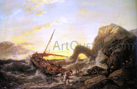 Pieter Christian Dommerson The Shipwreck - Hand Painted Oil Painting