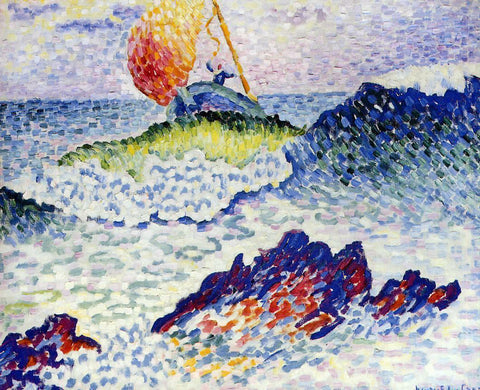 Henri Edmond Cross The Shipwreck - Hand Painted Oil Painting