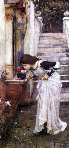 John William Waterhouse The Shrine - Hand Painted Oil Painting