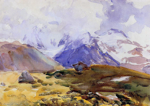 John Singer Sargent The Simplon - Hand Painted Oil Painting