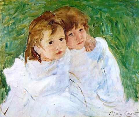 Mary Cassatt The Sisters - Hand Painted Oil Painting