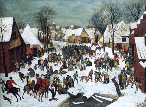 The Elder Pieter Bruegel The Slaughter of the Innocents - Hand Painted Oil Painting