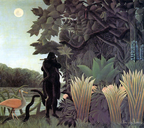 Henri Rousseau The Snake Charmer - Hand Painted Oil Painting